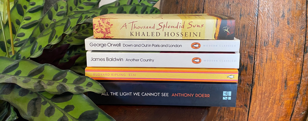 Unread books I've owned the longest